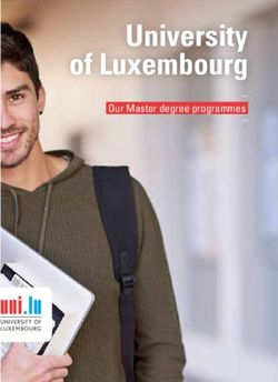 University of Luxembourg - Our Master degree programmes