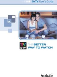Way to watch - THE Better