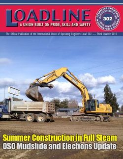 Summer Construction in Full Steam OSO Mudslide and Elections Update