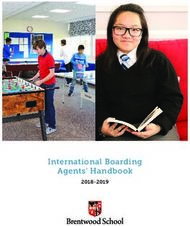 International Boarding Agents' Handbook