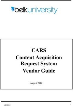 CARS Content Acquisition Request System Vendor Guide