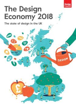 The Design Economy 2018 - The state of design in the UK