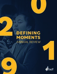 DEFINING MOMENTS ANNUAL REVIEW - TSCF
