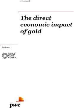 The direct economic impact of gold