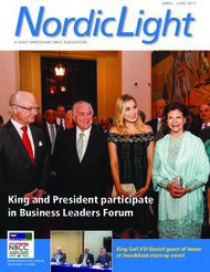 King and President participate in Business Leaders Forum