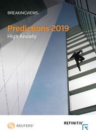 Predictions 2019 - High Anxiety