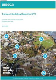 Transport Modelling Report for UFTI - Creative people together transforming ...