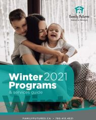 Winter Programs 2021 - Family Futures Resource Network