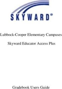 Lubbock-Cooper Elementary Campuses Skyward Educator Access Plus