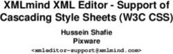 XMLmind XML Editor - Support of Cascading Style Sheets (W3C CSS)