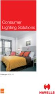 Consumer Lighting Solutions
