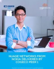 NUAGE NETWORKS FROM NOKIA DELIVERED BY COGECO PEER