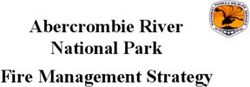 Abercrombie River National Park Fire Management Strategy