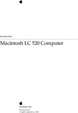 Macintosh LC 520 Computer Developer Note