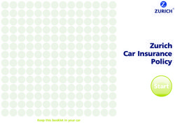 Zurich Car Insurance Policy