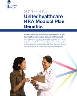 Unitedhealthcare HRA Medical Plan Benefits