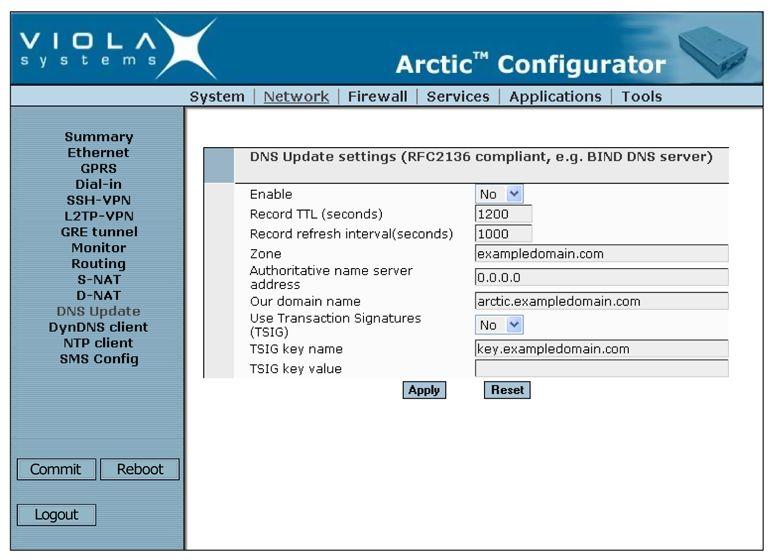 arctic user manual