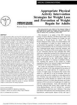 Appropriate Physical Activity Intervention Strategies for Weight Loss and Prevention of Weight Regain for Adults