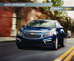 Chevrolet Cruze Limited 2016 Brochure