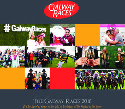 The Galway Races 2018