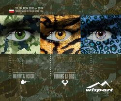 Military & Tactical Collection 2016 - 2017 - Wisport
