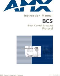 BCS - Protocol (Basic Control Structure)