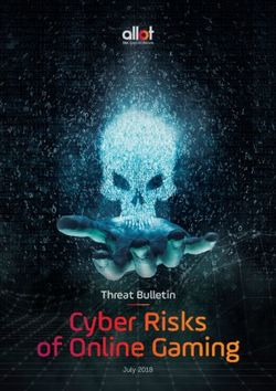 Cyber Risks of Online Gaming - Threat Bulletin