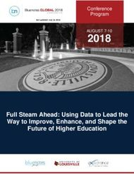 2018 Full Steam Ahead: Using Data to Lead the Way to Improve, Enhance, and Shape