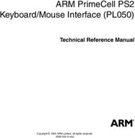 ARM PrimeCell PS2 Keyboard/Mouse Interface (PL050)