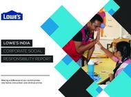 LOWE'S INDIA CORPORATE SOCIAL RESPONSIBILITY REPORT