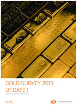 GOLD Survey 2013 uPDATe