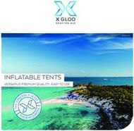 INFLATABLE TENTS - VERSATILE, PREMIUM QUALITY, EASY TO USE