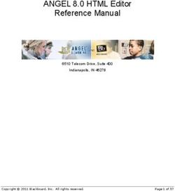 ANGEL 8.0 HTML Editor Reference Manual