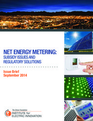 NET ENERGY METERING: SUBSIDY ISSUES AND REGULATORY SOLUTIONS