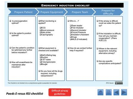 Facing the Future: Standards for children in emergency care