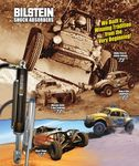 Bilstein Shock Absorbers. Off-Road Shocks Catalog 2008.