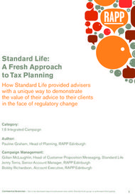 Standard Life: A Fresh Approach to Tax Planning