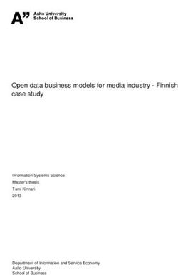 Open data business models for media industry - Finnish case study