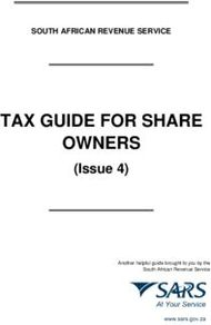TAX GUIDE FOR SHARE OWNERS - (Issue 4)