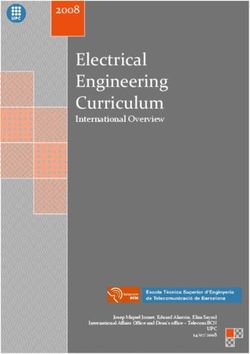 Electrical Engineering Curriculum 2008