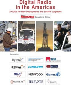 Digital Radio in the Americas Educational Series A Guide for New Deployments and System Upgrades