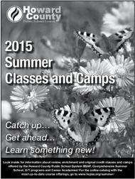 2015 Summer Classes and Camps - Howard ward r Co unty