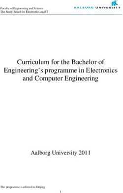 Curriculum for the Bachelor of Engineering's programme in Electronics and Computer Engineering