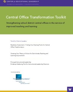 Central Office Transformation Toolkit