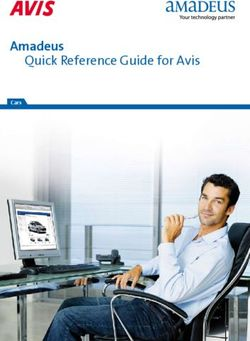 Amadeus Quick Reference Guide for Avis