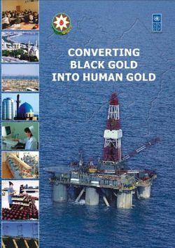Black Gold Into Human Gold: Full Report