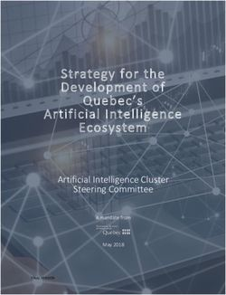 Strategy for the Development of Quebec's Artificial Intelligence Ecosystem