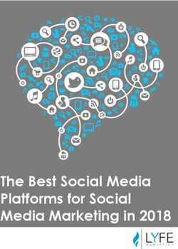 The Best Social Media Platforms for Social Media Marketing in 2018