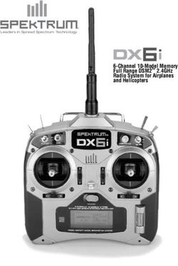 6-Channel 10-Model Memory Full Range DSM2 2.4GHz Radio System for Airplanes and Helicopters
