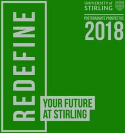 Your future at Stirling - University of Stirling